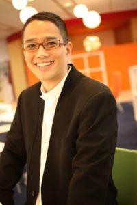 Photo of a young Satoshi Tajiri.